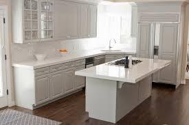 Black Kitchen Cabinets With White Tile Countertops White Kitchen