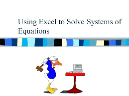 equations can excel solve cubic using