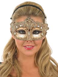 Decorative Eye Masks Gold Decorative Eye Mask Costumes Pinterest Eye masks 1