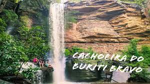 Cachoeiras de Juazeiro do Piauí: Tingidor, Buriti Bravo e Cipó - YouTube