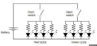 led series wiring diagram led image wiring diagram led traffic glove build a safety device to direct traffic on led series wiring diagram