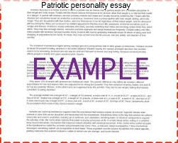 patriotic personality essay coursework academic writing service patriotic personality essay