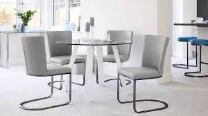 arc white gloss table moden