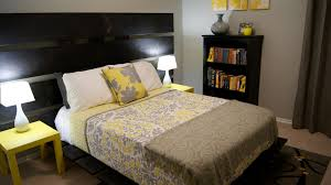 Yellow And Gray Bedroom Decor Lightandwiregallery Com