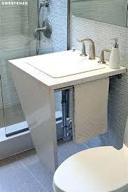 floor drain installation remove shower floor drain marvelous remove p trap bathroom sink 7 installing offset floor drain installation