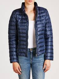 Lyst - Weekend by maxmara Perim Quilted Jacket in Blue & Gallery. Women's Quilted Jackets ... Adamdwight.com