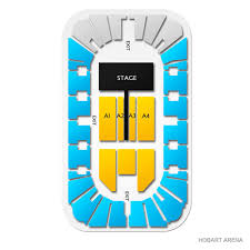 Hobart Arena 2019 Seating Chart
