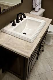 minimalist your countertops diy salvaged wood counter and so on bathroom vanity countertop ideas