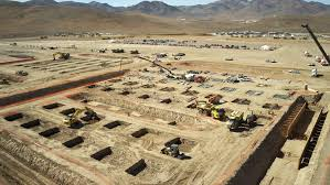 gigafactory construction on november 4 2016