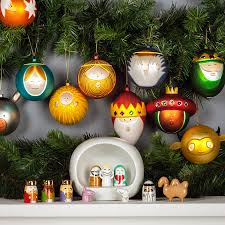 alessi ornaments bauble tree ball set amj13s10