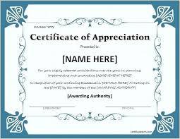 Award Certificate Template Word – Palacio-Riezu.com