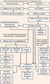 Организация работы мясного цеха Модель организации производства мясных полуфабрикатов