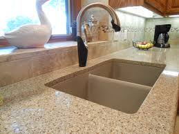 Granite Undermount Kitchen Sinks Kitchen Remodel Includes Samsung Radianz Quartz Countertop With