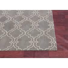 grey rugs 8x10 rugsville moroccan trellis scroll grey wool 12117 rug 8x10 wool grey rugs 8x10