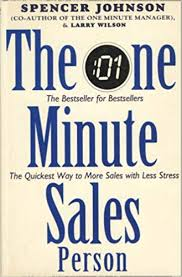 Amazon Book Charts Sales Uk The One Minute Salesperson Amazon Co Uk Spencer Johnson