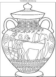 37 Vasi Greci Da Colorare Idei Con Decorazioni Vasi Greci Da Con