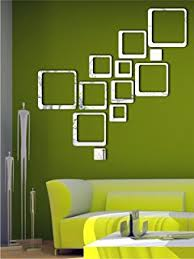 Small Picture Buy Naveed Arts 3D Acrylic Mirror Wall Dcor Stickers Online at