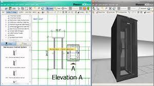 Data Rack Design Panduit Data Center Design Tool Capabilities