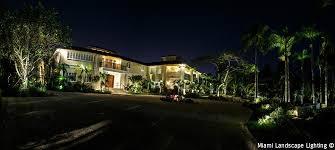 trapp estate coconut grove fl led landscape lighting