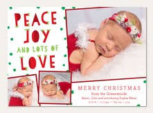 Christmas Birth Announcement Ideas Holiday Birth Announcements Christmas Birth Announcements Simply