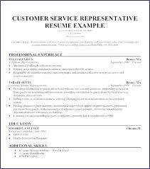 Bank Customer Service Representative Resume Sample Best Of Sample Customer Service Representative Resume Cv Template
