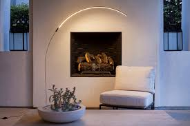 sparq arc led floor lamp by brightech
