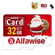 <b>Alfawise Christmas Fun Edition</b> Micro SD TF Card 3 In 1 32GB High ...