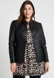 gothic biker jacket faux leather jacket black