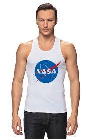 Майка классическая Свитшот NASA #674831 по цене 747 руб. в ...
