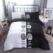 lusweet 3 pcs bedding set queen size