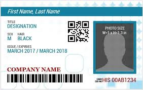 Word Badge Template Ms Word Photo Id Badge Templates For All Professionals