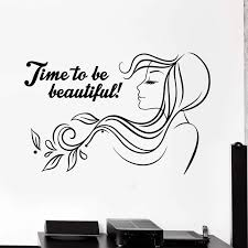 The black salon hair come with enticing offers and excellent performance. Barbershop Vinyl Wall Decal Beauty Salon Quote Woman Hair Salon Stickers Mural Removable Hair Salon Art Mural Store Window N47 Wall Stickers Aliexpress