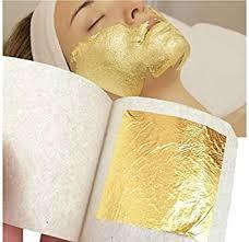 Buy 20 <b>sheets</b> : 1-200 <b>sheet 24k</b> 100% pure <b>gold</b> leaf <b>facial mask</b> ...