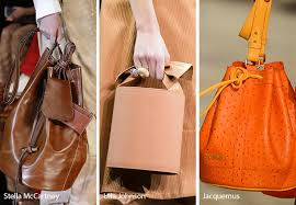 fall winter 2018 2019 handbag trends bucket bags purses