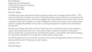 Geologist Cover Letter Example Of A Cover Letter For An Internship
