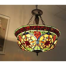 tiffany style pendant light. Kitchen Island Lamp Pendant Light Dining Room Fixture Tiffany Style Chandelier
