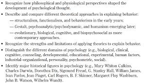ap psychology mr duez history targets part i evolution of psychology part ii research methods targets