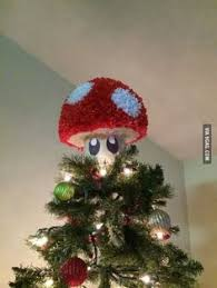 Super Mario Christmas Tree