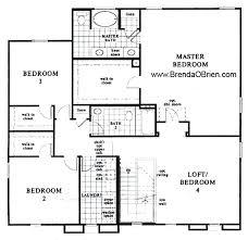 kb homes floor plans. Brilliant Homes KB Model 3233 Upstairs Floor Plan To Kb Homes Plans 3