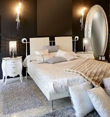 white bedroom with dark furniture. bedroom white bedrooms with dark furniture silk window curtain beige brown fur pillows gray soft linen b