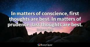 John Wesley Quotes 73 Inspiration In Matters Of Conscience First Thoughts Are Best In Matters Of
