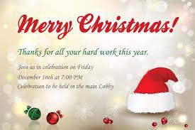 Company Holiday Party Invitation Wording Company Christmas Party Invitation Wording Christmas