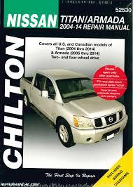 chilton 2004 2014 nissan titan 2005 2014 nissan armada truck repair Nissan Armada Brake Controller Wiring at Nissan Armada 2014 Wiring Diagram
