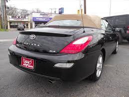 2008 Toyota Camry Solara SLE V6 2dr Convertible 5A In San Antonio ...