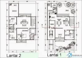 42 gambar dan denah rumah minimalis type 60 desainrumahnya com