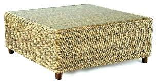 wicker storage ottomans round wicker ottoman wicker storage ottoman with tray wicker storage