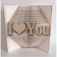 Book Folding Patterns Classy I Love You Book Folding Pattern 48 Pages48 Folds Book