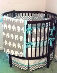 round bassinet bedding set round crib bedding set aqua gray and white by cradle bassinet bedding sets