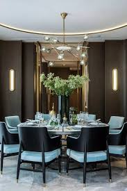 i think i ll go with a round table setting looks really good from modern dining