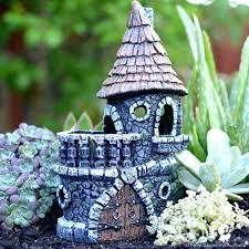 fairy garden castle. Fairy Garden Castle Woodland Sand